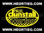 Paul Dunstall Norton Tank and Fairing Transfer Decal  D20084A-1 (6)